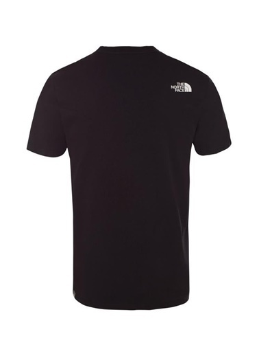 The North Face M S/S Mountain Line Tee Erkek T-Shirt Siyah Siyah